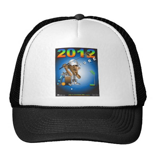 Obama Fore 2012 Mesh Hat