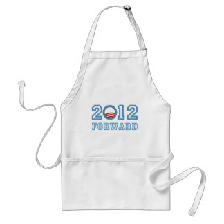 Obama forward 2012 apron