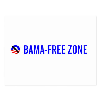 obama-free zone postcard