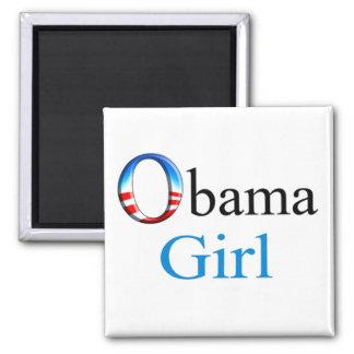 Obama Girl Magnet (white)