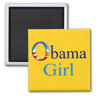 Obama Girl Magnet (yellow)