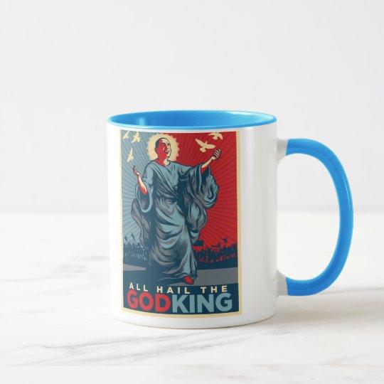 Obama God-King Mug