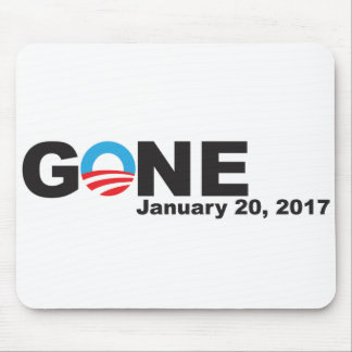 Obama Gone, 2017 Mouse Mat