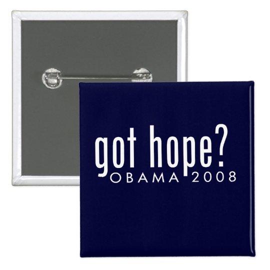 Obama Got Hope Button