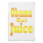 Obama Got Juice Orange Yellow Cover For The iPad Mini