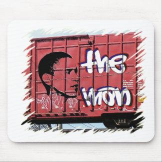 Obama Graffiti Boxcar Mouse Pads