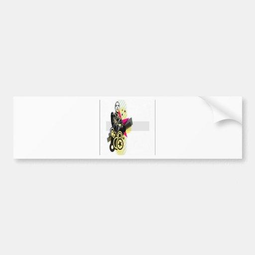 Obama graphic design bumper stickers
