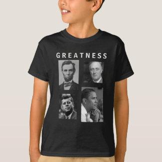 Obama GREATNESS Lincoln FDR JFK Obama  - KIDS T-Shirt