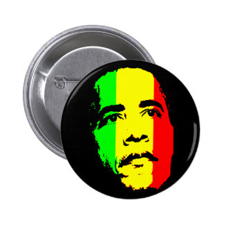 Obama green gold red Button