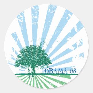 Obama Green Sticker