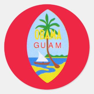 Obama GUAM Sticker
