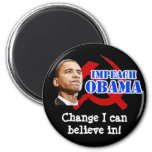 Obama Hammer and Sickle, Change I can believe in! Fridge Magnets