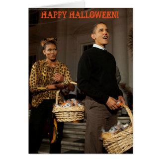 Obama Happy Halloween - Greeting Card
