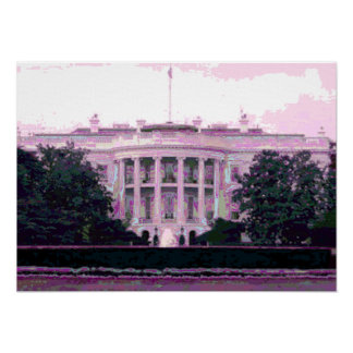 OBAMA HAS CHANGED ... THE WHITE HOUSE! POSTER