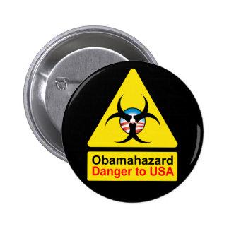 Obama Hazard buttons