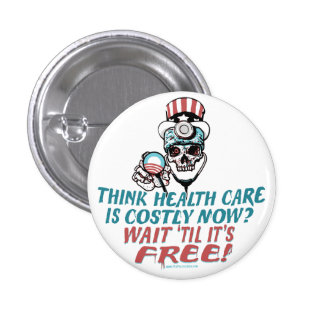 Obama Health Scare Gear by YesPoliticsSuck 3 Cm Round Badge