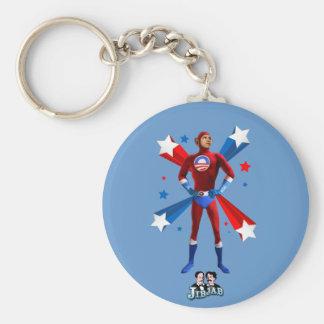 Obama Heroic Key Ring