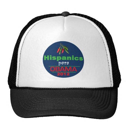 Obama HISPANICS Hat