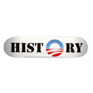 Obama History Custom Skateboard