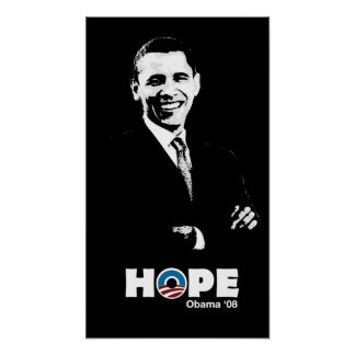 Obama: Hope Poster by Budi
