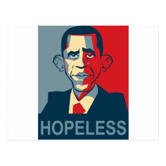 Obama hopeless postcard