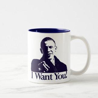 Obama I Want You! Mug