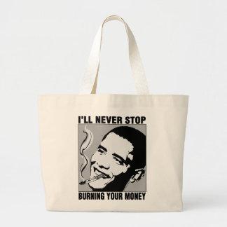 Obama: I'll Never Stop Bag