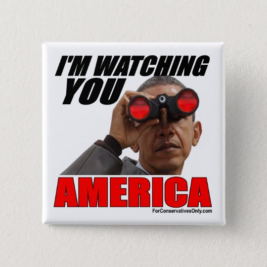 Obama - I'm Watching You America 15 Cm