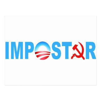 Obama Impostor Post Card