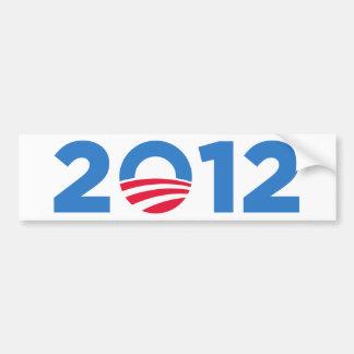Obama in 2012 bumper stickers