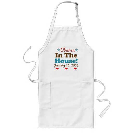 Obama In The House Apron