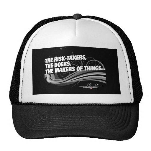 Obama Inaugural Address 'Risk Takers' Hat