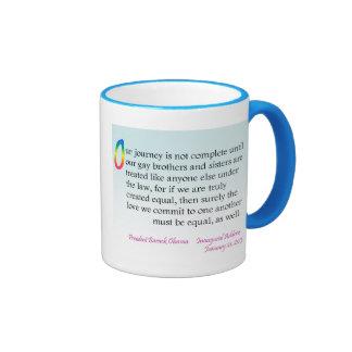 Obama Inaugural - LGBT mug