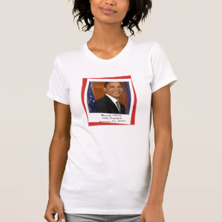 Obama Inauguration 2009 Souvenir Tee Shirt