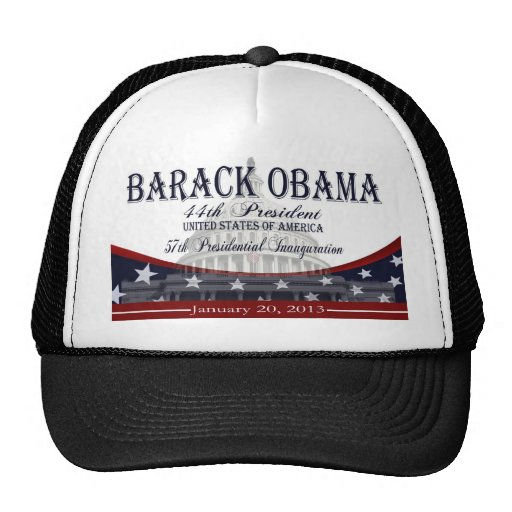 Obama Inauguration 2013 Collectible Hat