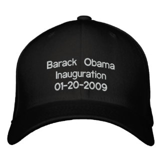 Obama Inauguration 20-01-09 Embroidered Baseball Cap