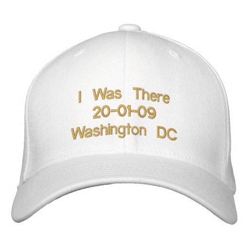 Obama Inauguration 20-01-09 Washington DC Embroidered Hats