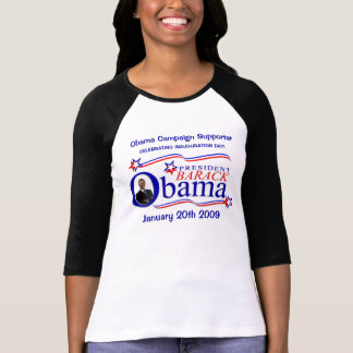 Obama Inauguration - Campaign Supporter Shirt