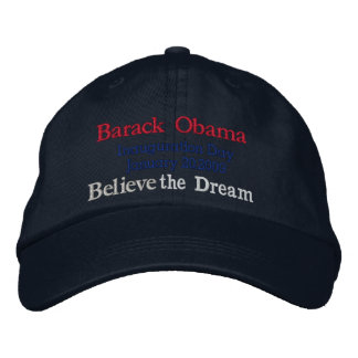 Obama Inauguration Day 2009_ Embroidered Hat