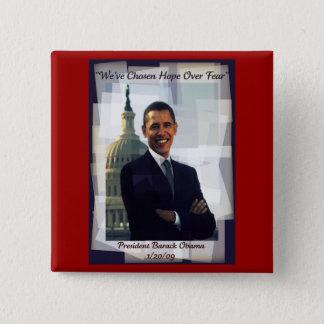 Obama Inauguration Day 2009 Souvenir Button