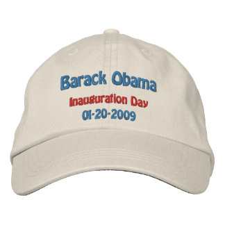 Obama Inauguration Day Collectors Embroidered Hat