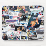 Obama Inauguration International Front Pages Mouse Mats