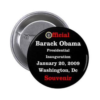 Obama Inauguration Souvenir Collectors 6 Cm Round Badge