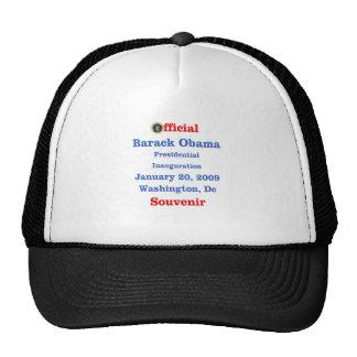 Obama Inauguration Souvenir Collectors Trucker Hat