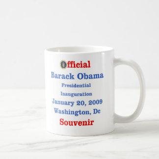 Obama Inauguration Souvenir Collectors Coffee Mugs