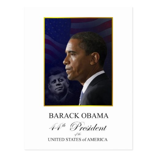 Obama Inauguration Souvenir Postcard