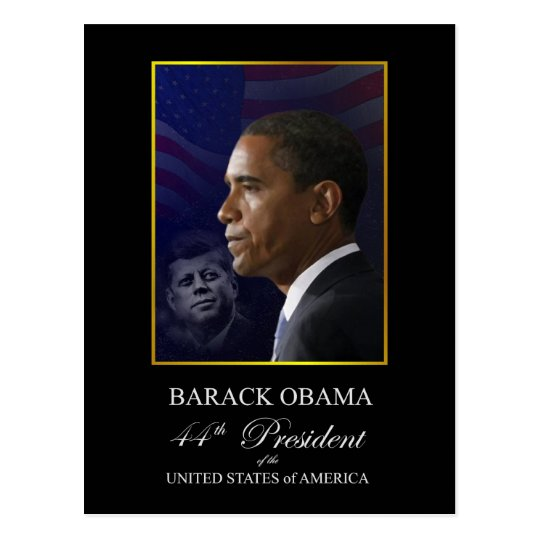 Obama Inauguration Souvenir Postcard - Customised