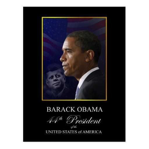 Obama Inauguration Souvenir Postcard - Customized