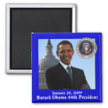 Obama Inauguration souvenir Square Magnet