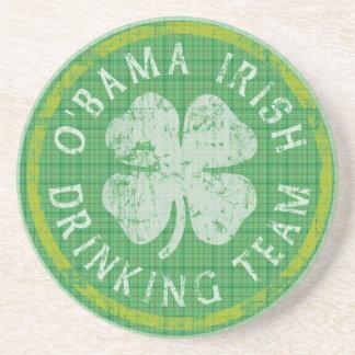 Obama Irish Drinking Team Coaster